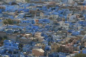 Blue City by LeGrandReveurEnPhoto