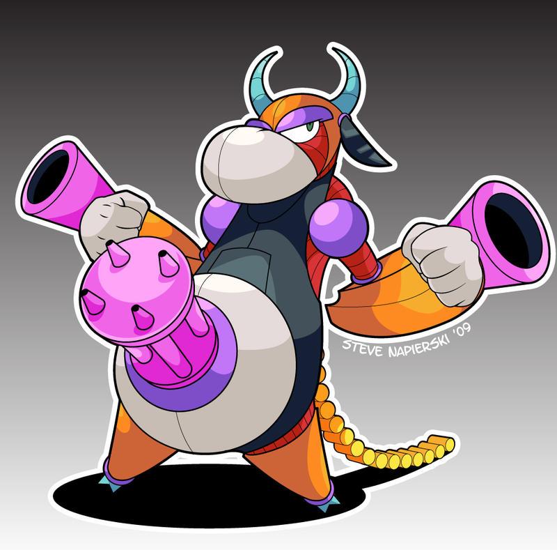 Holy Cow - Mega Man X by pierski