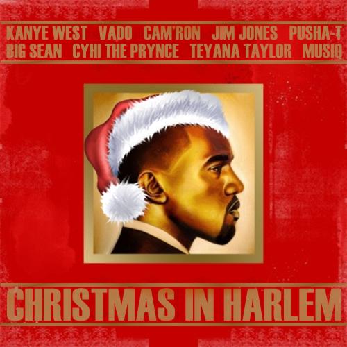 Kanye West - Christmas In Harlem by simba-hiiipower on DeviantArt