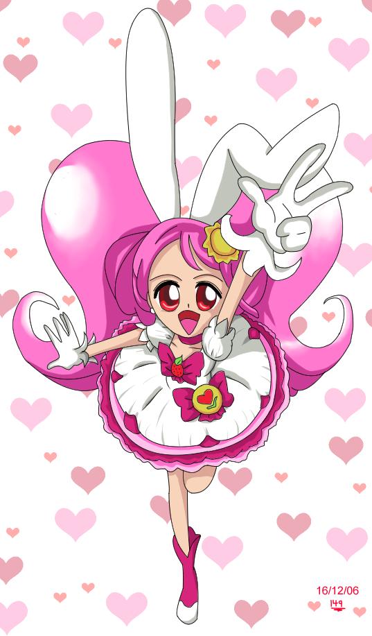 KiraKira pink Cure by Benit149