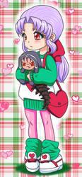 Connla and Mini Cu Valentine by Benit149
