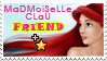 Madmoiselleclau FRIEND stamp by madmoiselleclau