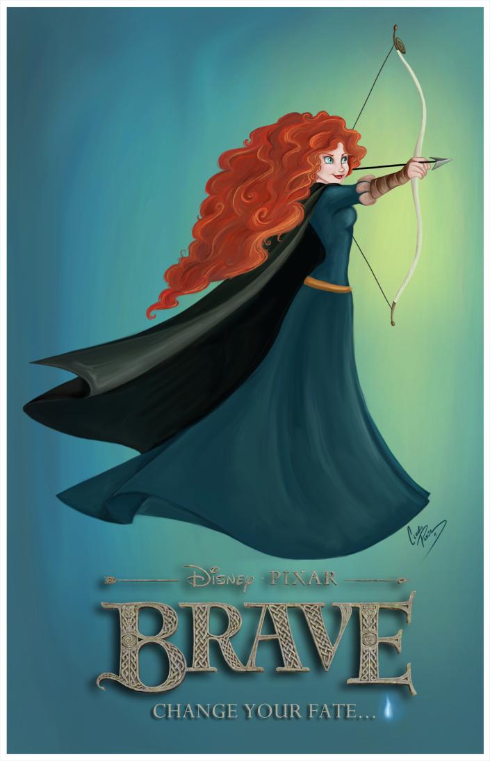 Princess Merida by madmoiselleclau