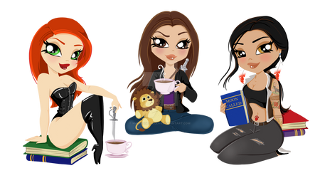 Coffe and Characters Blog Header