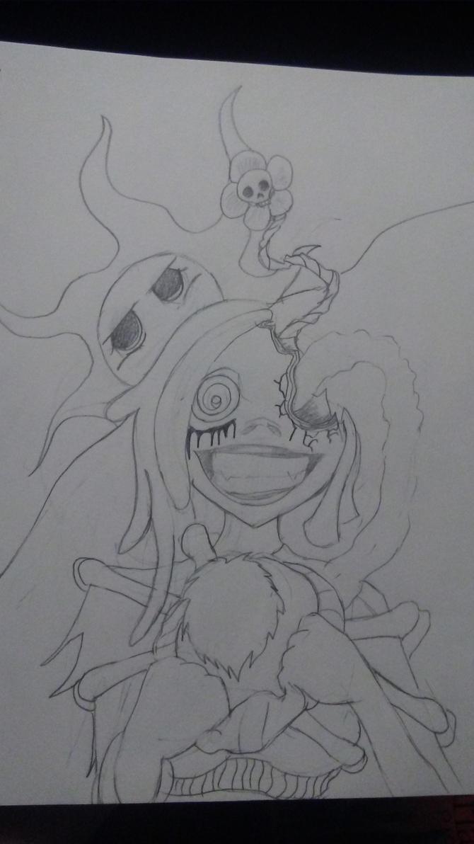 Shatter sketch 2 by Fluffynails