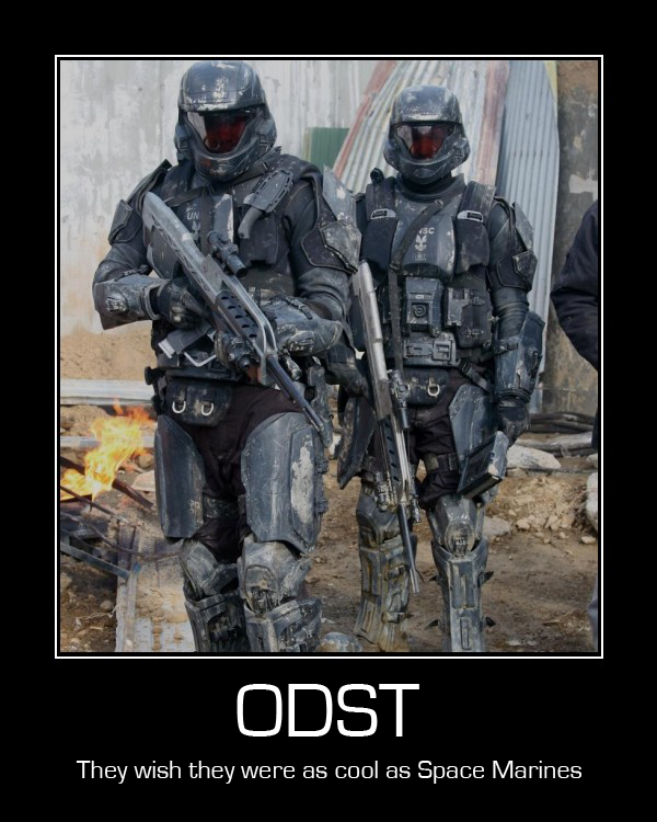 Odst Still Not Space Marines By Dj Anarchy On Deviantart
