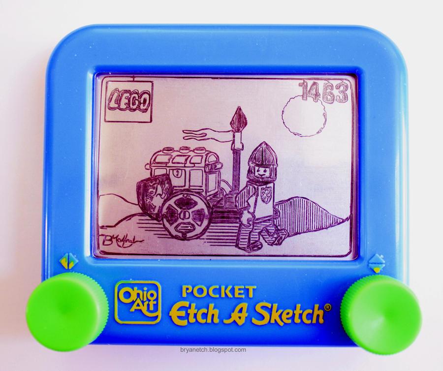 Lego Treasure Cart