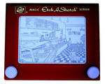 NYC Pizzeria Etch