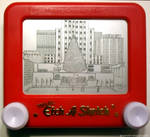 Rockefeller Center Etch