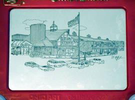 Stew Leonard's of Danbury, CT Etch-a-Sketch by bryanetch