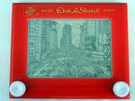 Times Square Etch-a-Sketch by bryanetch
