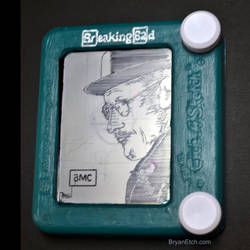 Breaking Bad Etch a Sketch by bryanetch