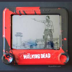 The Walking Dead Etch a Sketch