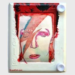 David Bowie Etch a Sketch