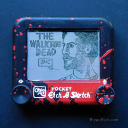 The Walking Dead, Shane Etch a Sketch