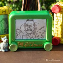 The Wizard of Oz, Emerald City Gatekeeper Etch