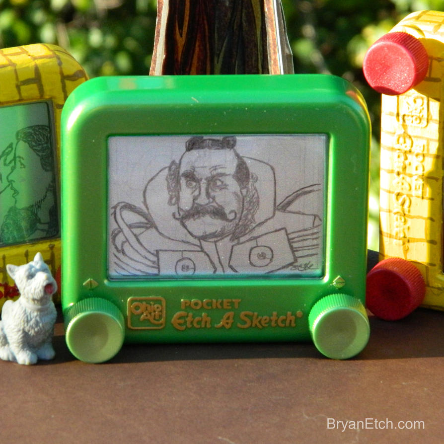 The Wizard of Oz, Emerald City Gatekeeper Etch by bryanetch on ...