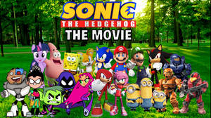 Sonic The Hedgehog The Movie Poster 2.0