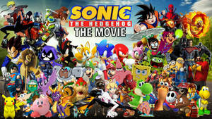 Sonic The Hedgehog The Movie Poster 3.0