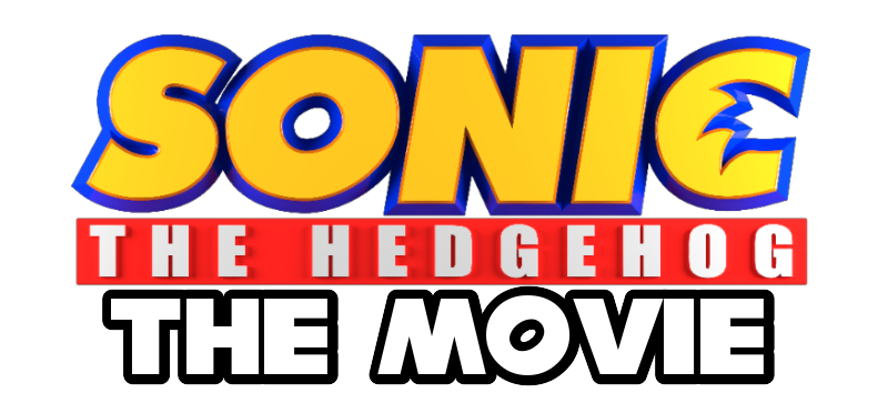 Sonic The Hedgehog The Movie Logo By Sonic29086 On Deviantart
