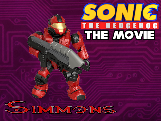 Sonic The Hedgehog The Movie Poster Simmons By Sonic29086 On Deviantart