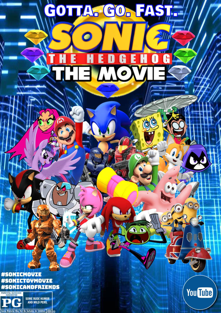Sonic The Hedgehog The Movie Poster Gotta Go Fast By Sonic29086 On Deviantart