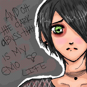 So emo it hurts like a Razor by pinkXspider