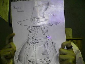 wizardmon by bluebear-K
