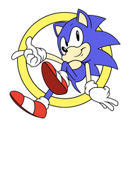 Sonic shirt by sonicboom53