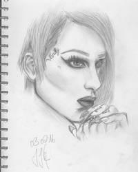 Jeffree Star Portrait by Toastbrotgehirn