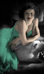 Jean Harlow is Catwoman by Anongamer