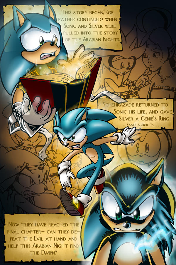 Sonic Ghosts of the Future Comic. GOTF_issue_6_Page_1_by_EvanStanley