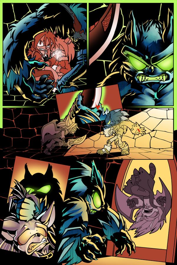 Sonic Unbound Werehog Fight by EvanStanley