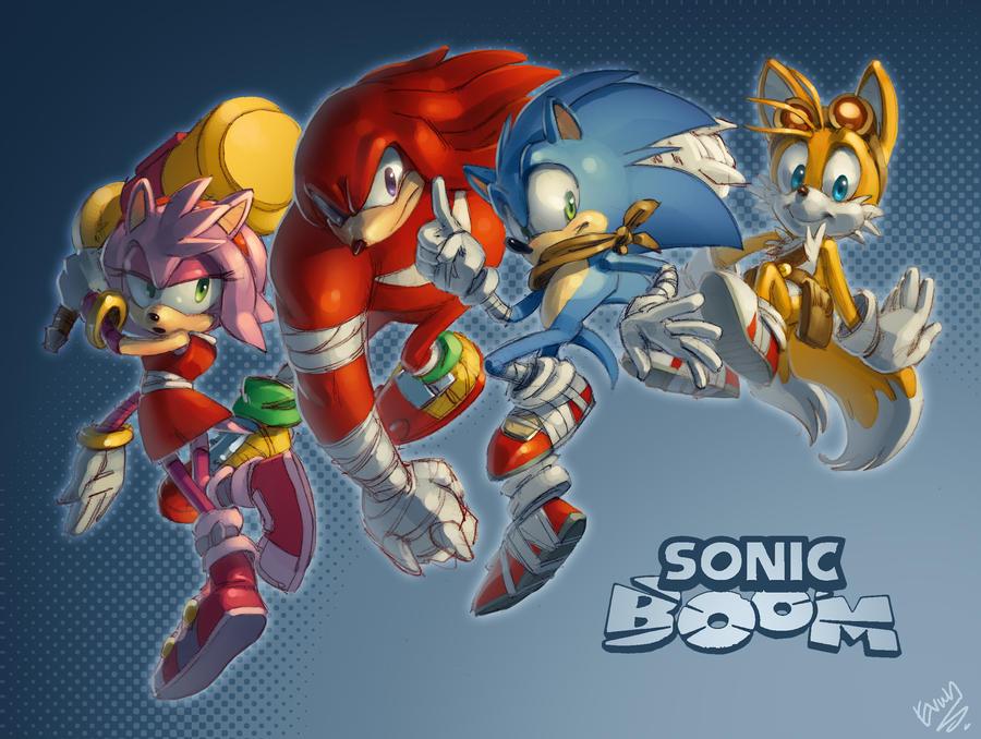 Sonic Boom! by EvanStanley