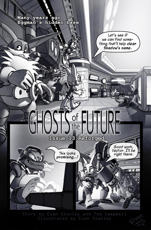 GOTF issue 13 page 1 by EvanStanley
