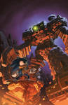 Sonic the Hedgehog: Issue 285 Variant Cover
