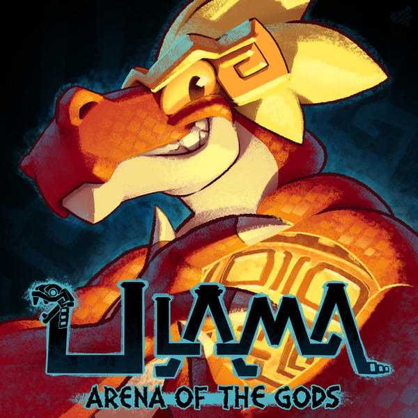 Ulama: Arena of the Gods cover art by EvanStanley