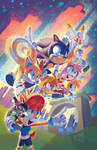 Sonic Universe #96 variant cover