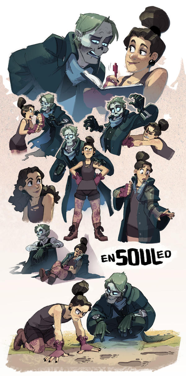 Ensouled Character Sketches 8_4_18