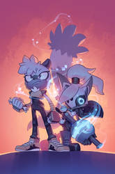Tangle And Whisper #1 Cover (SDCC Exclusive) by EvanStanley