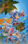 IDW Sonic the Hedgehog #27 Cover