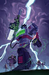 IDW Transformers/Ghostbusters #5 alt cover