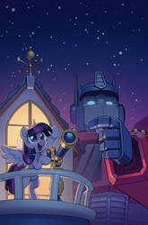 IDW Transformers/My Little Pony alt cover