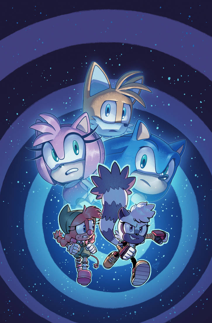 Sonic the Hedgehog #37 Cover