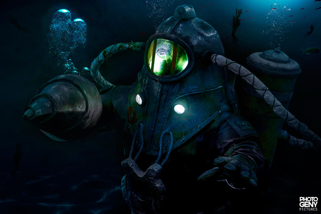 Subject Delta - BioShock 2 by photogeny-cosplay