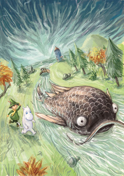 Moomin Cover Art by FabienMater