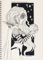 Inktober 2017 Day 15 - Mysterious by FabienMater