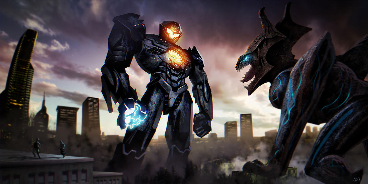 Pacific Rim Uprising - Fan Art by FabienMater