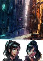 Shadow City streets