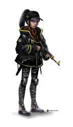 Fox Spirit - Tina's guard outfit